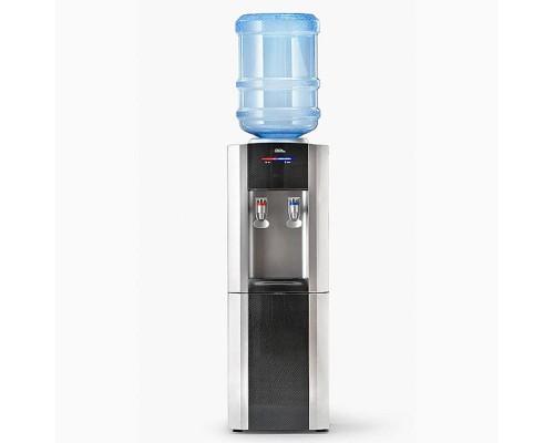 Кулер для воды AEL LC-AEL-110B черный/серебристый с холодильником