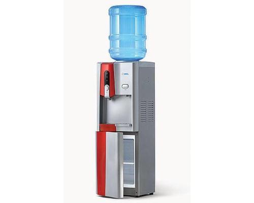 Кулер для воды AEL LC-AEL-150b red напольный, компрес., холодильник 16л