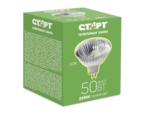 Лампа галогенная Старт 50 Вт цоколь GU5.3 (теплый свет)