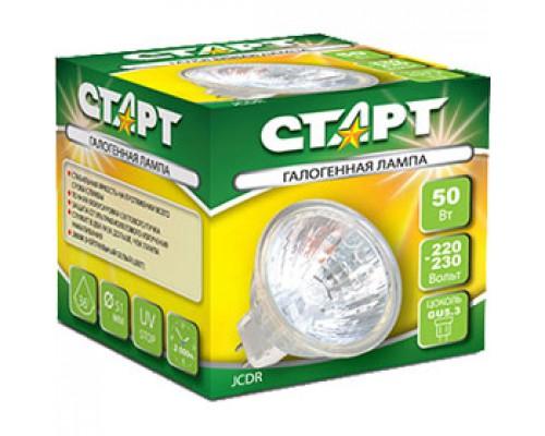 Лампа галогенная JCDR 50W 220V GU5.3