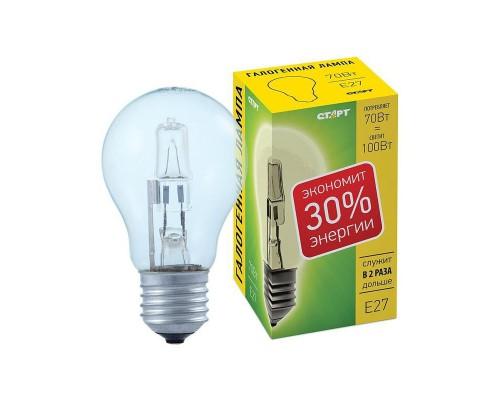 Лампа галогенная Старт 70 Вт цоколь E27 (теплый свет)