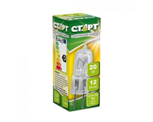 Лампа галогенная JC G4 20W, капсульная