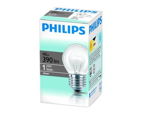 Лампа накаливания Philips 40 Вт цоколь E27 (белый свет)