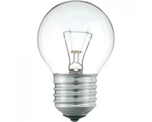 Лампа накаливания 60Вт E27, шарообразн. прозрачная