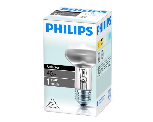 Лампа накаливания Philips 40 Вт цоколь E27 зеркальная (белый свет)