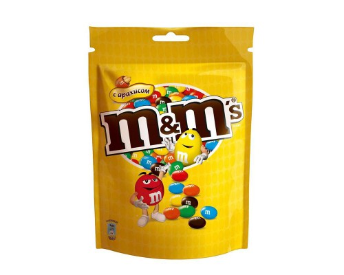 Драже M&M`s с арахисом 360г