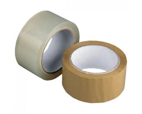 Лента клейкая 48ммх40 40-45мкр, коричневый