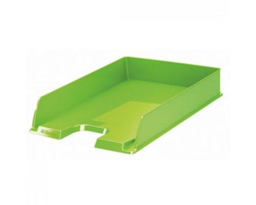 Лоток горизонтальный ESSELTE Europost Vivida, зеленый
