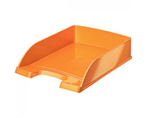 Лоток горизонтальный LEITZ WOW, оранжевый металлик