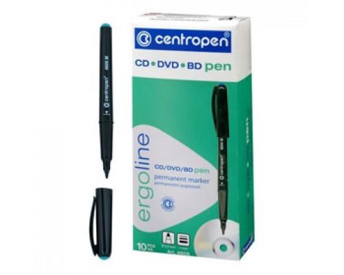 Маркер для CD CENTROPEN 4606/1З 0,5-1мм, зеленый