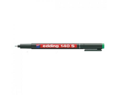 Маркер для пленок EDDING E-140 S OHP 0,3мм, зеленый