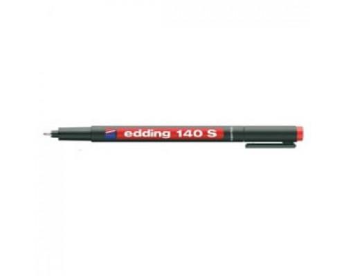 Маркер для пленок EDDING E-140 S OHP 0,3мм, красный
