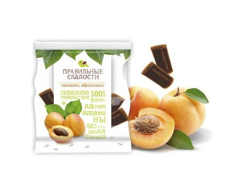 Мармелад Правильные сладости абрикосовые пастилки 90 г