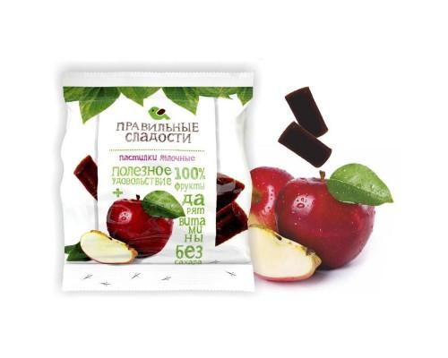 Мармелад Правильные сладости яблочные пастилки 90 г