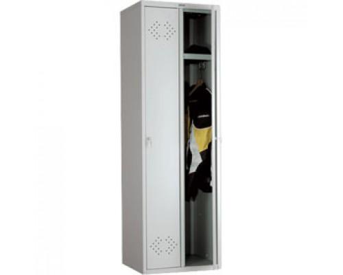 Шкаф для одежды ПРАКТИК LS-21(LE-21), 1830*575*500, 2 секции