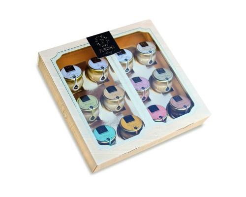 Мёд-суфле Peroni-honey Коллекция вкусов 12 баночек по 30 мл
