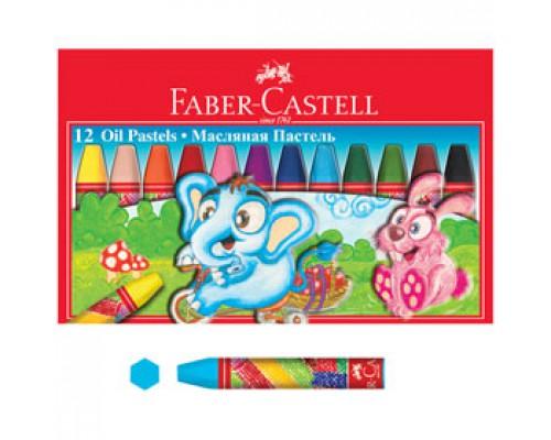 Пастель масляная FABER CASTELL 12цв.