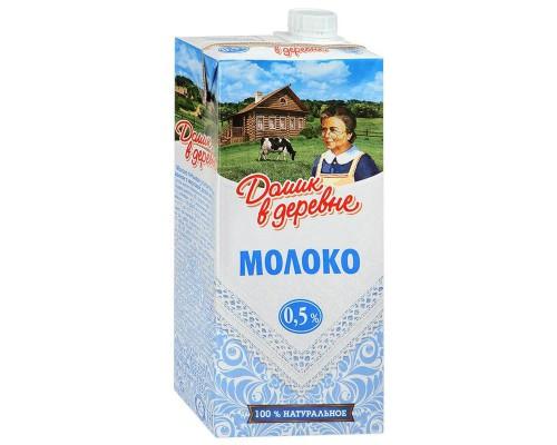 Молоко Домик в деревне стерилизованное 0.5% 950 г