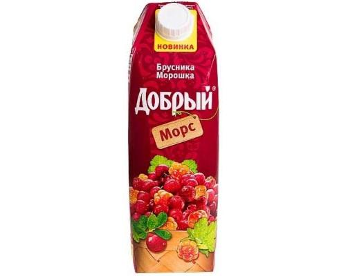 Морс Добрый брусника-морошка 1 л