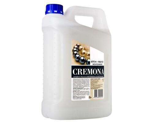 Жидкое крем-мыло Кремона Жемчужное 5 литров в канистре
