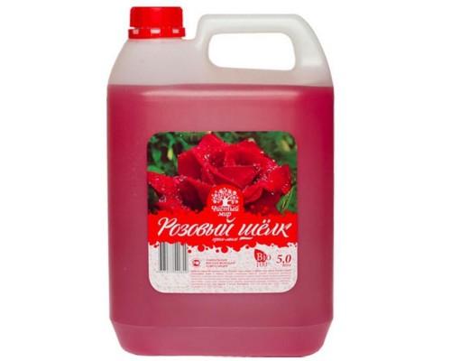 Жидкое крем-мыло Фаворит Розовый шелк 5 л (канистра)