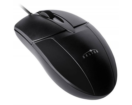 Мышь OKLICK 145M PS/2, оптическая, проводная, черный