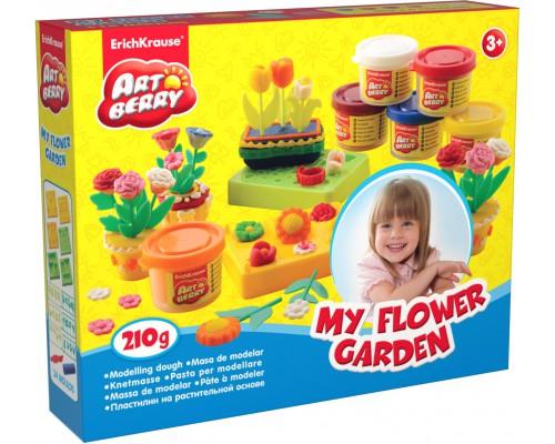 Пластилин на растит. основе My Flower Garden 6 бан/35г, разноцветн.