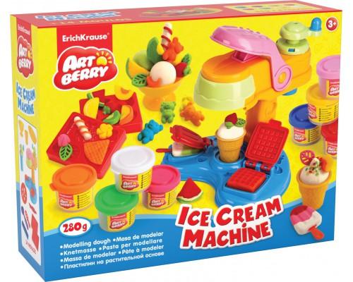 Пластилин на растит. основе Ice Cream Machine 8 бан/35г, разноцветн.
