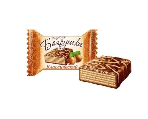 Вафельный тортик Боярушка классический 38 г (40 штук в упаковке)