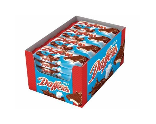 Вафли Daffers с молочно-кремовой начинкой 30 г (28 штук в упаковке)