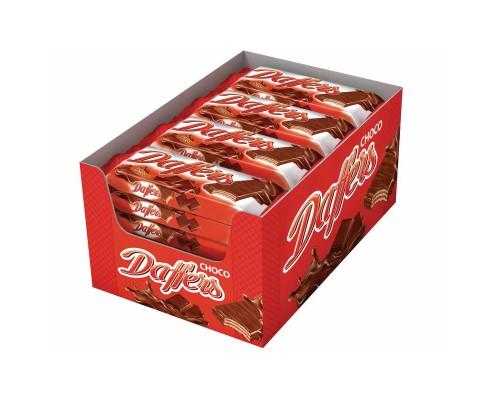 Вафли Daffers с какао-шоколадным кремом 30 г (28 штук в упаковке)
