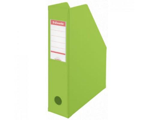 Накопитель архивный 70мм ESSELTE Vivida, картон, зеленый