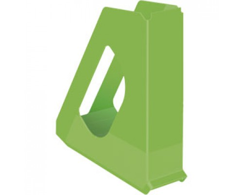 Накопитель вертикальный 70мм ESSELTE Europost Vivida, зеленый