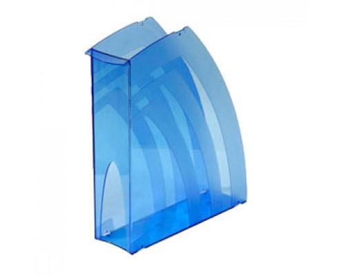 Накопитель вертикальный 70мм, тонированный синий