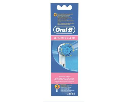 Насадка для электрических зубных щеток Oral-B Sensitive Clean EBS17 (2 штуки в упаковке)