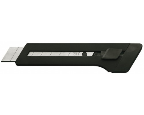 Нож канцелярский 18мм EDDING, черный