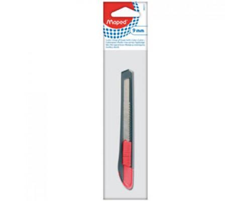 Нож канцелярский 9мм MAPED Start, блистер