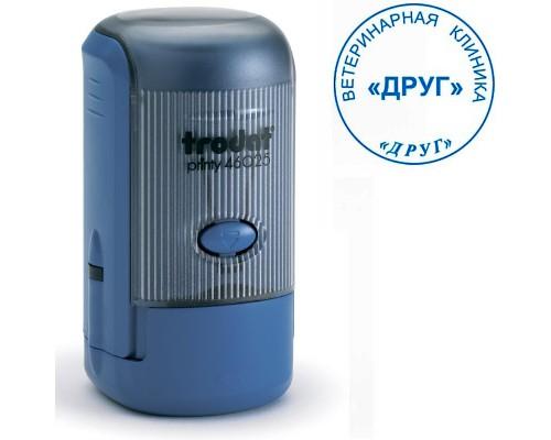 Оснастка для круглой печати TRODAT 46019, d=19мм, синий
