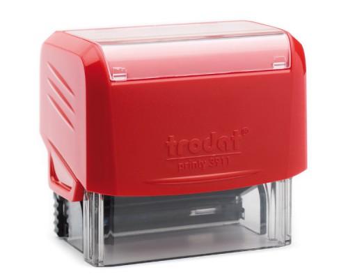 Оснастка для штампа TRODAT 3911, 38х14мм, красный
