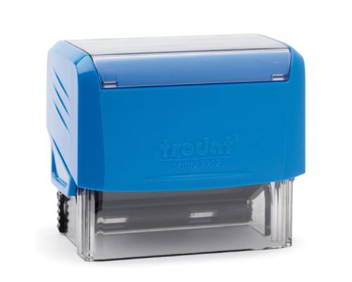 Оснастка для штампа TRODAT 3912, 47х18мм, синий