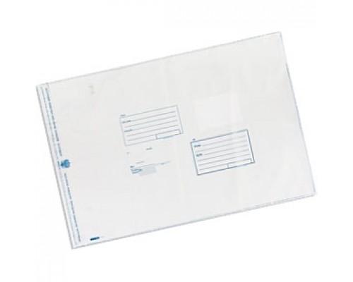 Пакет почтовый 360х500мм, стрип, 1шт, 3-х сл.п/э