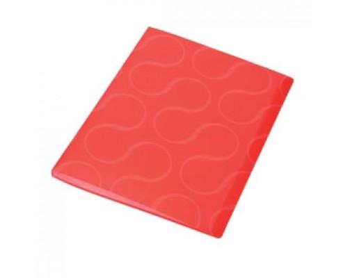 Папка с файлами 20 карманов, OMEGA, красный