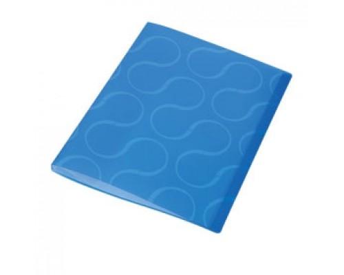 Папка с файлами 20 карманов, OMEGA, синий