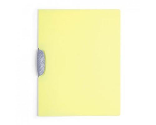 Папка с клипом DURABLE Swingclip Color А4, от 1 до 30л, желтый