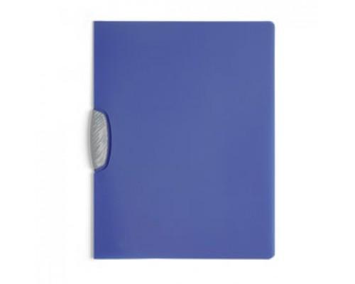 Папка с клипом DURABLE Swingclip Color А4, от 1 до 30л, синий