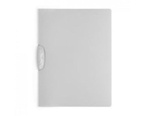 Папка с клипом DURABLE Swingclip Color А4, от 1 до 30л, серый