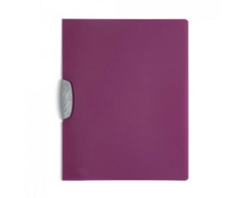 Папка с клипом DURABLE Swingclip Color А4, от 1 до 30л, фиолетовый