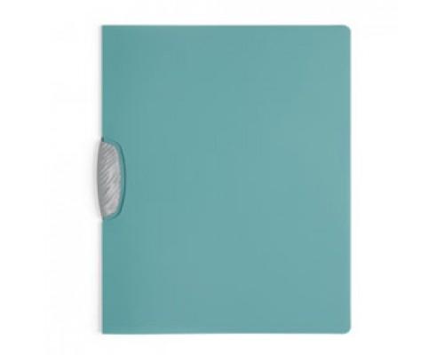 Папка с клипом DURABLE Swingclip Color А4, от 1 до 30л, бирюзовый