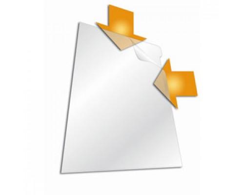 Папка-уголок А4 120мкм DURABLE, прозрачный
