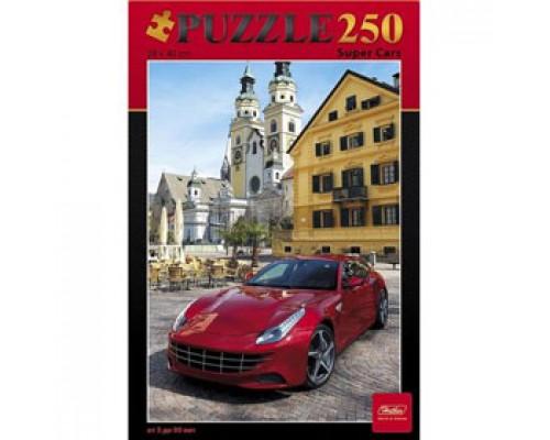 Пазл А3 280х400мм, 250 элементов, HATBER Super Cars